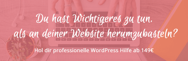 WordPress Support ab 149€