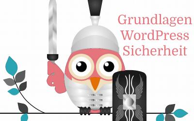 WordPress Sicherheit Grundlagen