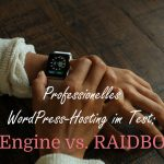 WordPress Hosting im Test: WP Engine vs. RAIDBOXES
