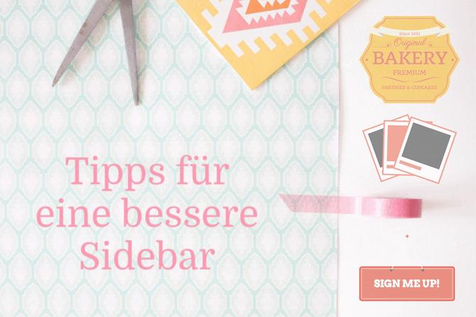 9 Tipps für eine optimale Blog-Sidebar & Widget-Empfehlungen