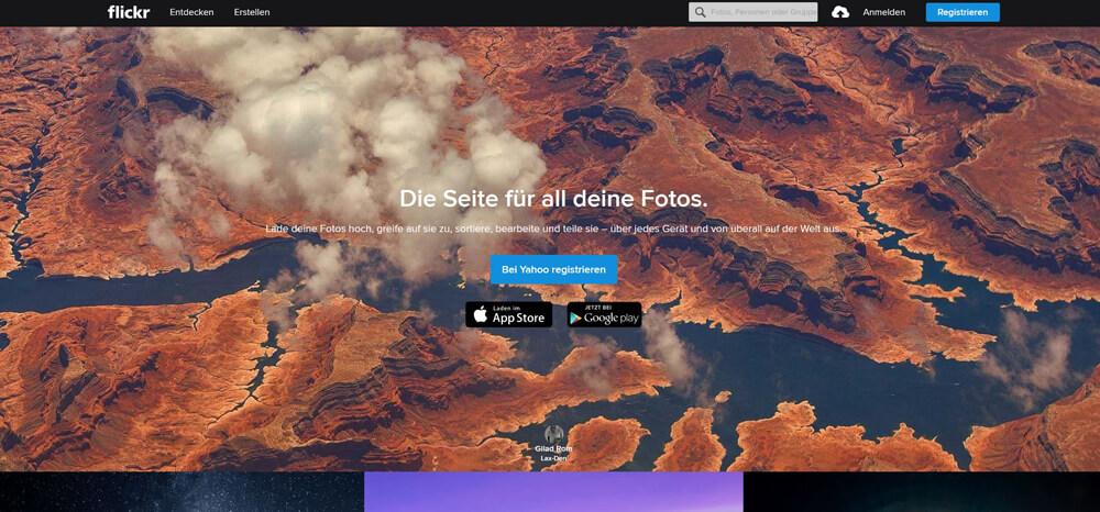Flickr Startseite