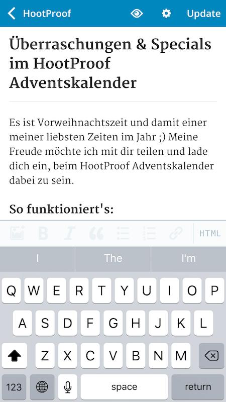 WordPress App 4