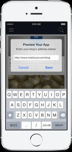 Mobiloud-App-Testen