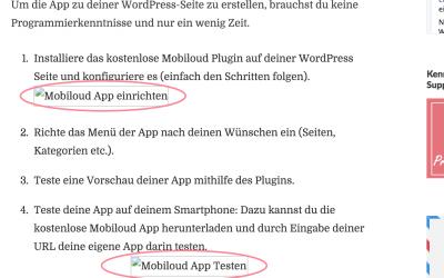 WordPress 4.4: Bilder werden nicht angezeigt