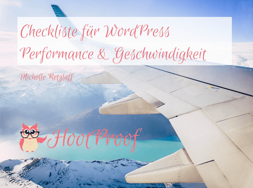 Checkliste Performance